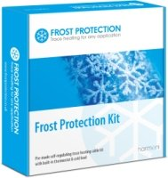 10m Pre-made (12W L/m) Frost Protection Trace Heating Kit with Thermostat
